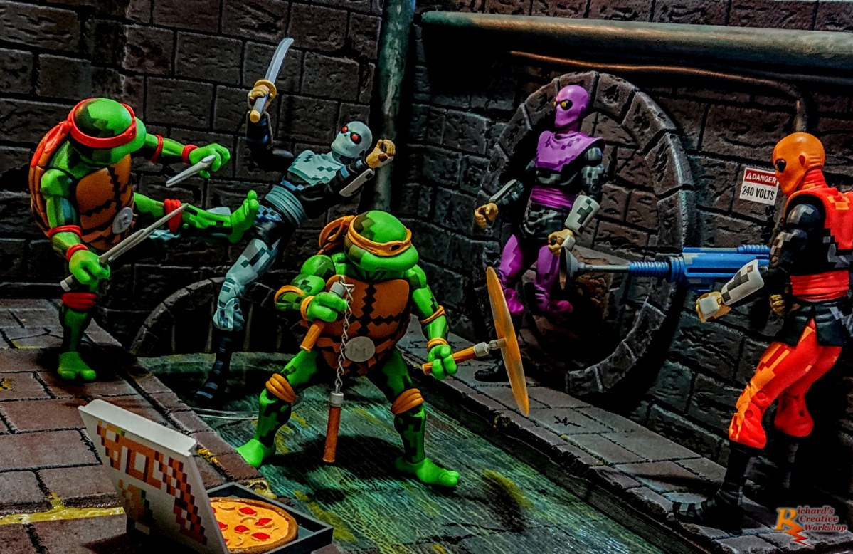 Teenage Mutant Ninja Turtle Sewer