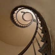 Spiral Staircase, Charbonnet House; French Quarter; 2006
