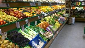 Fruit and Veg Display