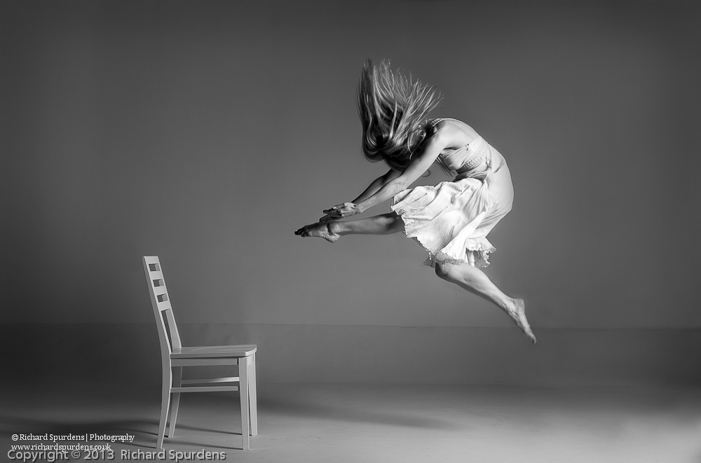 perfecting the art of chair hurdling