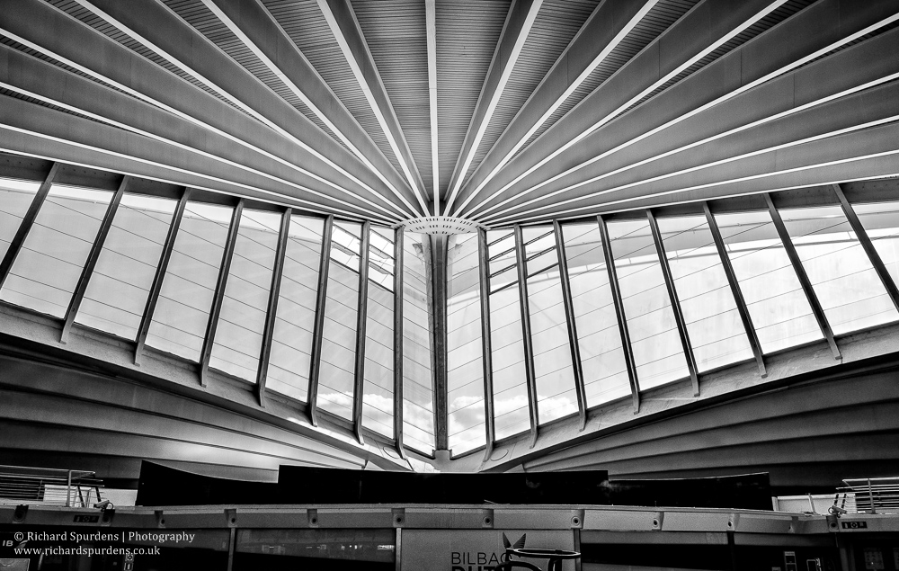 bilbao airport windows