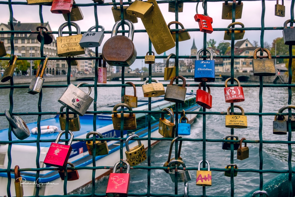 Zurich bridge locks II
