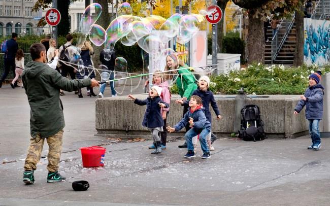 Zurich bubble fun I
