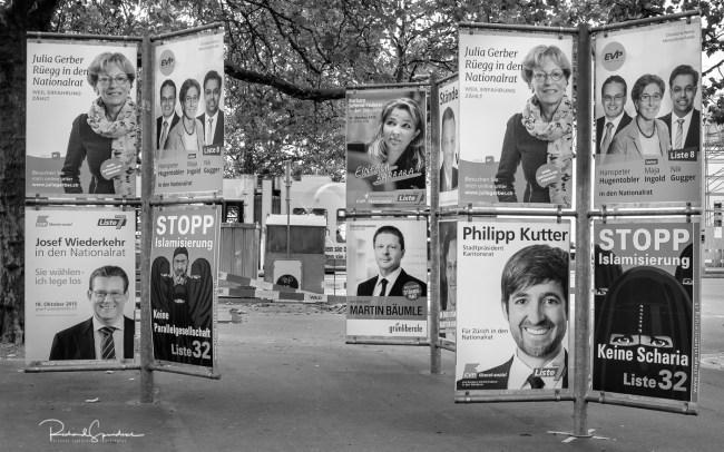 Zurich election adverts