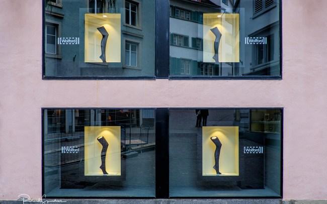 Zurich stockings art