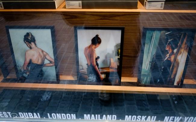 Zurich window art