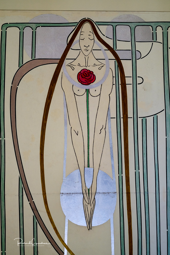 wooden panelling artist designs by mackintosh