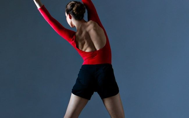 dance pose by dancer erica mulkern