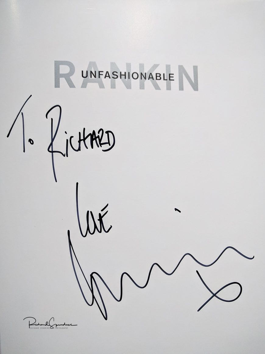 image of the inside cover and its signature