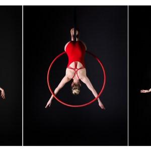 Aerail Arts Photography - Aerial hoop Photography - Aerial arts Photographer - september print of the month aerial hoop triptych