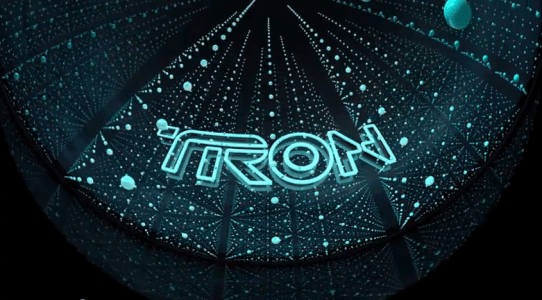 TRON LEGACY.  3D Dome Demo Part 1