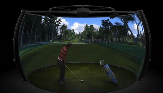 3SpaceVR Golf Simulator