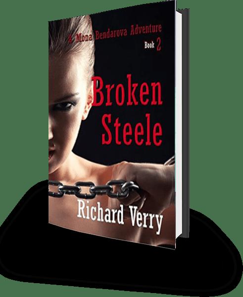 Broken Steele book cover 3D