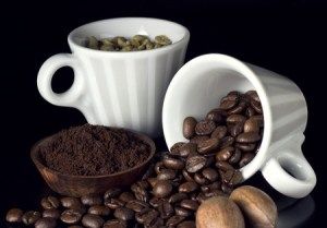 25758923_s-coffee cups and natural beans and nuts