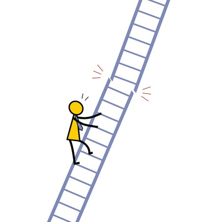 Climbing the Broken Ladder