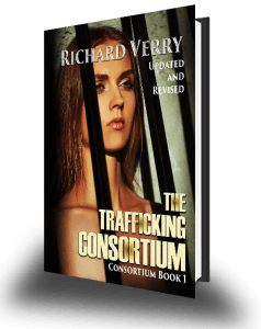 Discoveries regarding paperback versions of 'The Trafficking Consortium'