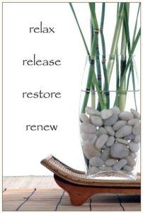 relax, restore, renew