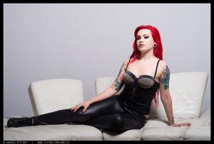 Diane Vulpine reclining