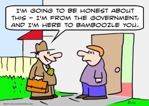 Government bamboozling