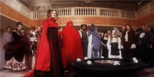 Star Wars Revelations Party Scene