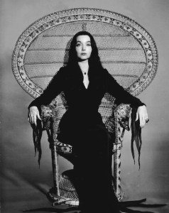 Mistress Morticia Addams