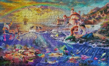 Disney's Little Mermaid jigsaw puzzles