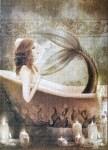 Aquarius Mermaid Bath jigsaw puzzles