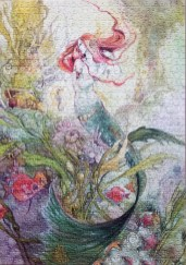 Mermaid Watercolor jigsaw puzzles