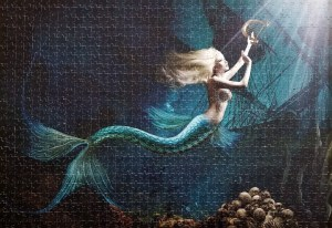Mermaid on the SeaFloor Jigsaw Puzzles