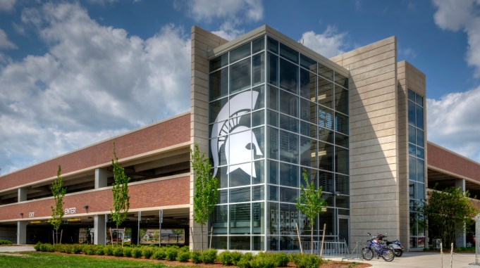 Michigan State Parking Structure