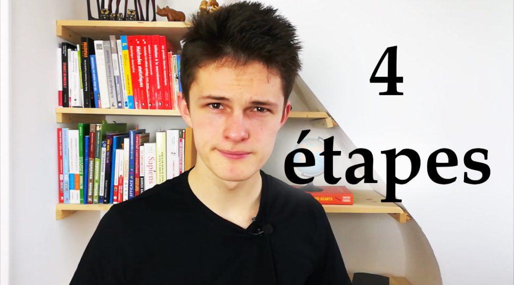 4 étapes pour sortir de échec