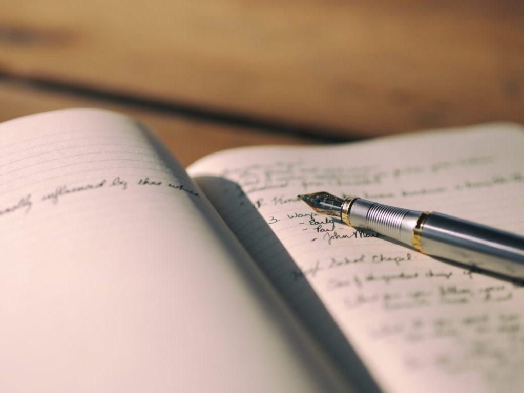 Journal ecrire