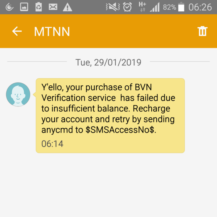 How to check bVN number code