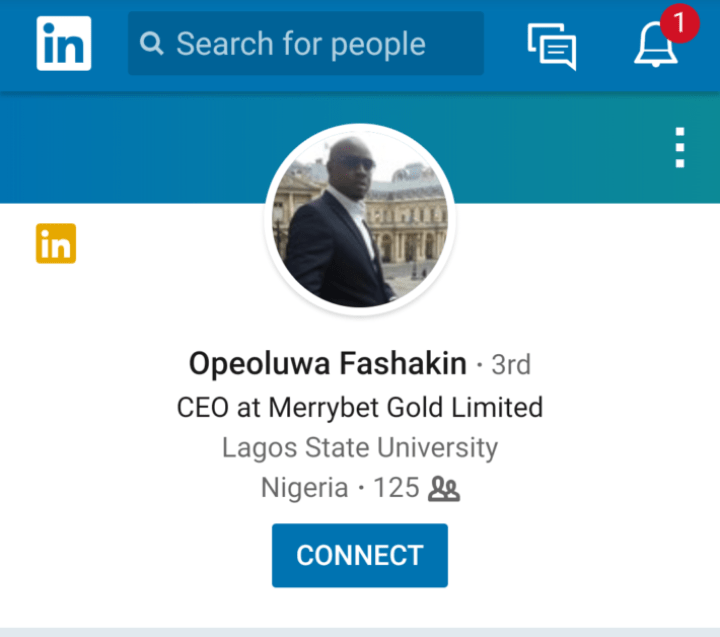 CEO, founder, Owner of Merrybet