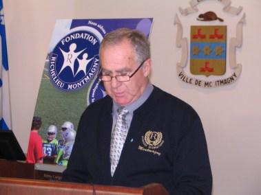 Jean Laberge Président de la Fondation