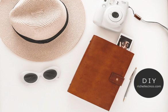 Image of a Leather Planner