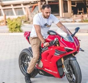 Hisham owner of dubaibikerboys instagram
