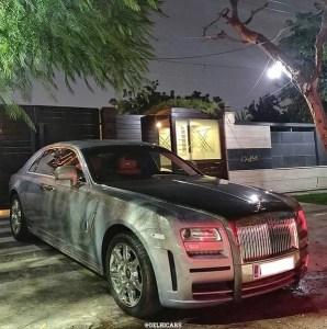 Itish RollsRoyce- DelhiCars Instagram