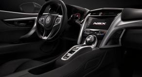 Acura NSX 2017 interior 2