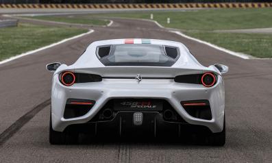 Ferrari 458 MM Speciale rear