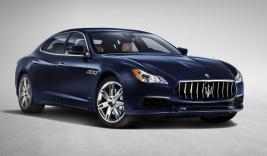 Maserati Quattroporte GranLusso side