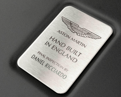 Aston Martin AM-RB 001 inspection Daniel Ricciardo