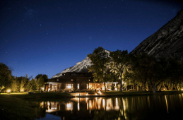 Ranch in Aspen night