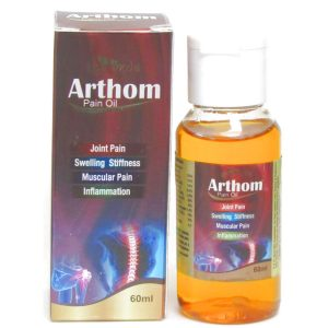 Arthom Pain Oil for Joint  Muscular Pain Inflammation  Swelling Stiffness60 ml  Arthom Oil 1