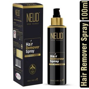 NEUD Hair Remover Spray for Men and Women 100ml of Each Pack  NEUD Hair Remover Spray for Men and Women