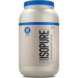 Isopure Protein Powder Natural Flavor 3 lb 1360 Kg  Isopure Protein Powder Natural Flavor