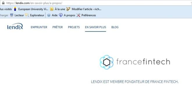 Lendix inversión crowdlending 13 Francia fintech crowdfunding