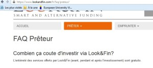 lookandfin looketfin crowdfunding fresco belga crowdlending