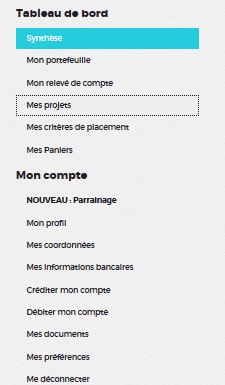 credit.fr investment crowdfunding investment 21 menus
