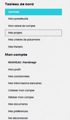 credit.fr investment crowdfunding investment 21 menus